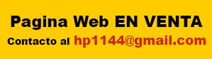 Aviso página web
